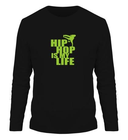 Мужской лонгслив Hip hop is my life