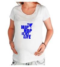 Футболка для беременной Hip hop is my life