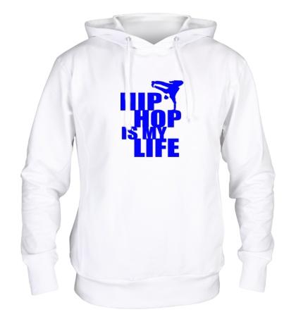 Толстовка с капюшоном Hip hop is my life