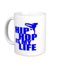 Керамическая кружка Hip hop is my life