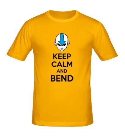 Мужская футболка Keep calm and band