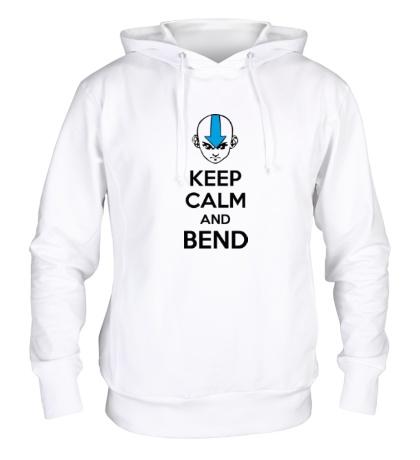 Толстовка с капюшоном Keep calm and band