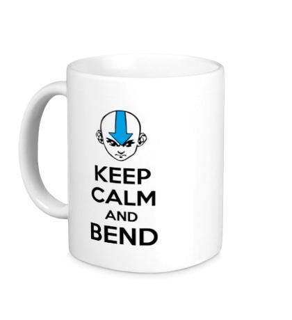 Керамическая кружка Keep calm and band
