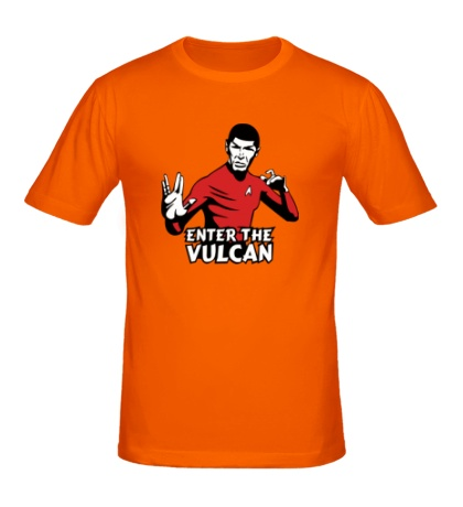 Мужская футболка Enter the Vulkan