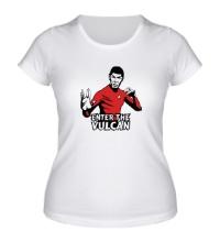 Женская футболка Enter the Vulkan