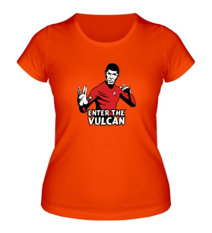 Женская футболка «Enter the Vulkan»