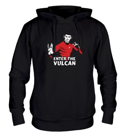 Толстовка с капюшоном Enter the Vulkan