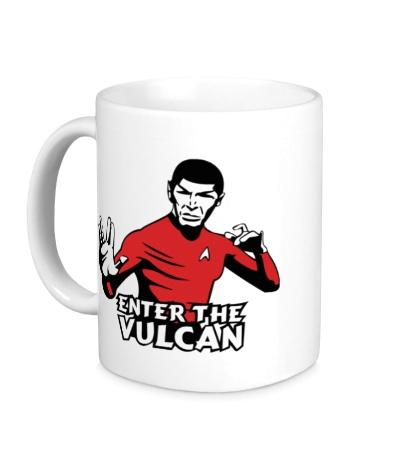 Керамическая кружка Enter the Vulkan