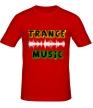 Мужская футболка «Trance music» - Фото 1