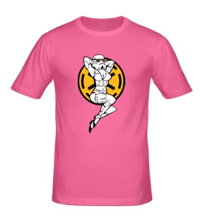 Мужская футболка Storm Trooper Girl