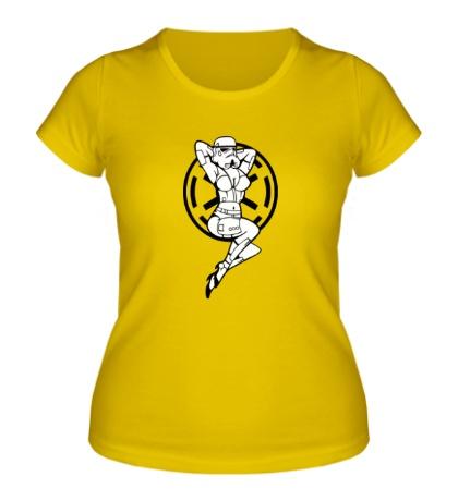 Женская футболка Storm Trooper Girl