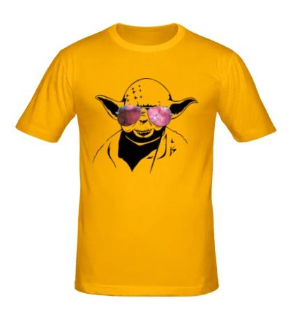 Мужская футболка Йода просто космос