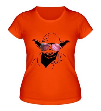 Женская футболка Йода просто космос