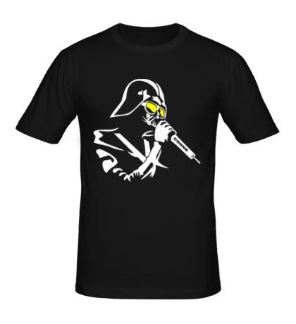 Мужская футболка Darth Vader Singer