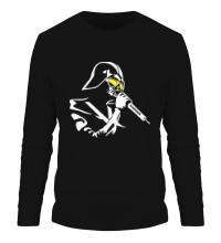 Мужской лонгслив Darth Vader Singer