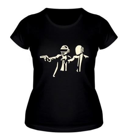 Женская футболка Daft Punk Boys Glow