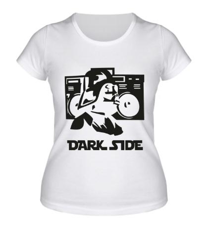 Женская футболка Dark Side Music