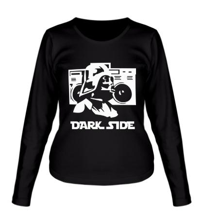 Женский лонгслив Dark Side Music
