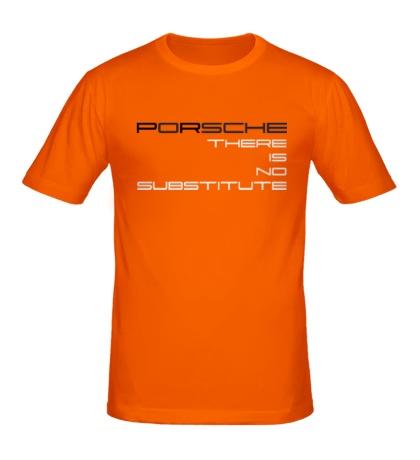 Мужская футболка Porsche: No substitute