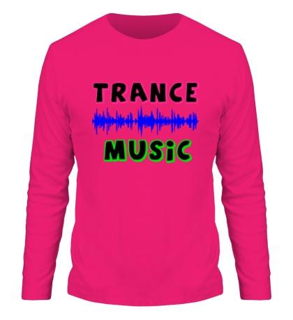 Мужской лонгслив Trance music
