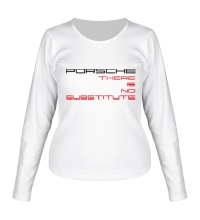Женский лонгслив Porsche: No substitute