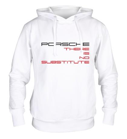 Толстовка с капюшоном Porsche: No substitute