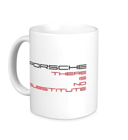 Керамическая кружка Porsche: No substitute