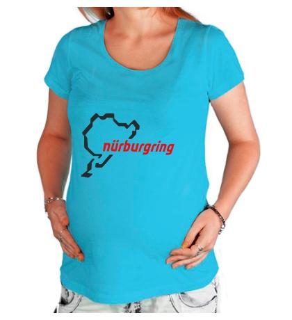 Футболка для беременной Nurburgring