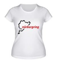 Женская футболка Nurburgring