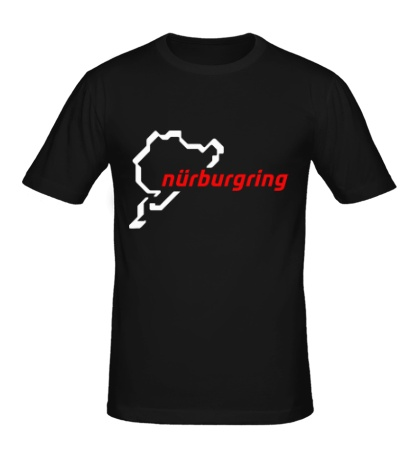 Мужская футболка Nurburgring