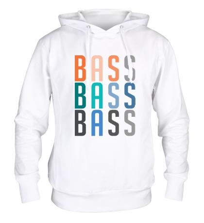 Толстовка с капюшоном Triple Bass