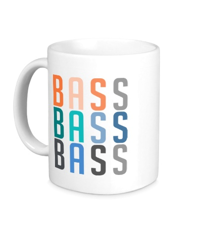 Керамическая кружка Triple Bass