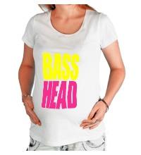 Футболка для беременной Bass head