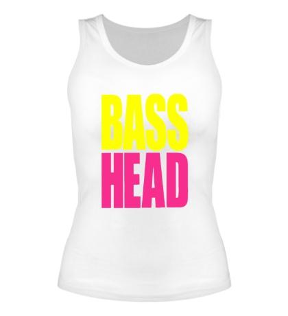 Женская майка Bass head