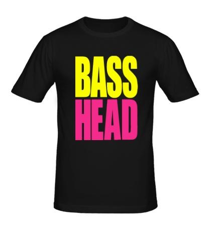 Мужская футболка Bass head