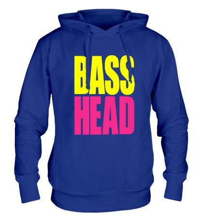 Толстовка с капюшоном Bass head