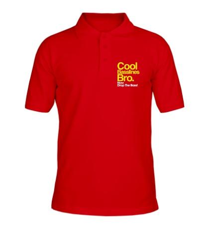 Рубашка поло Cool baseline bro