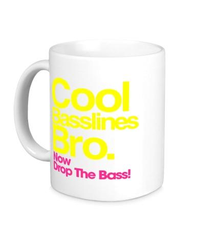 Керамическая кружка Cool baseline bro