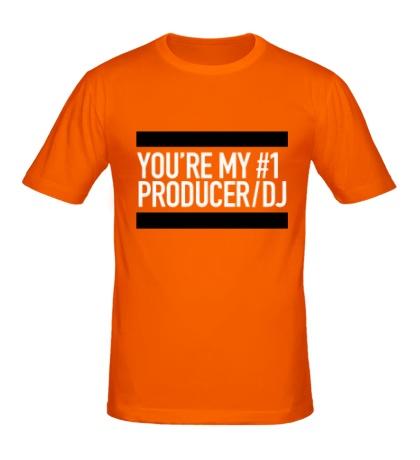 Мужская футболка You are my No1 producer DJ