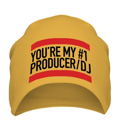 Шапка You are my No1 producer DJ