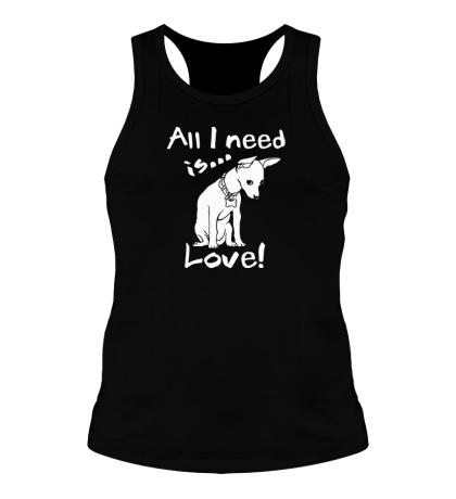 Мужская борцовка All i need is love