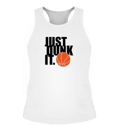 Мужская борцовка Just dunk it Basketball