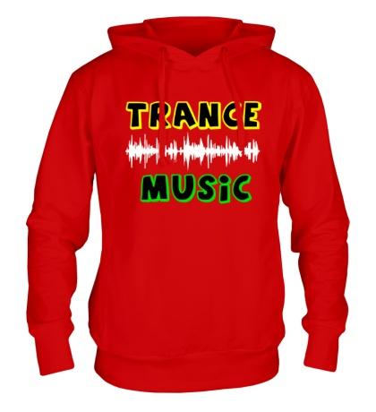 Толстовка с капюшоном Trance music
