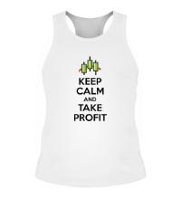 Мужская борцовка Keep calm and take profit