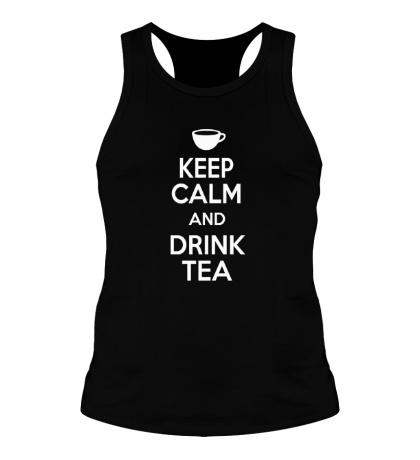 Мужская борцовка Keep calm and drink tea