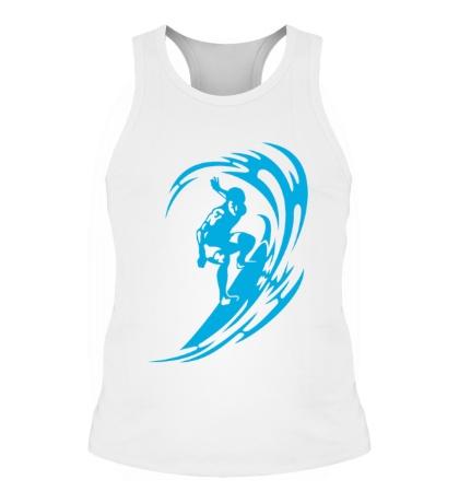 Мужская борцовка Веселый серфинг
