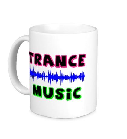 Керамическая кружка «Trance music»