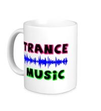 Керамическая кружка Trance music