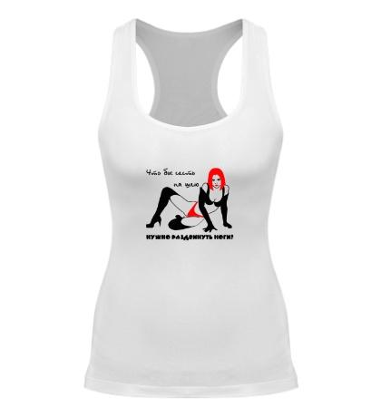 Женская борцовка Чтобы сесть на шею, нужно раздвинуть ноги
