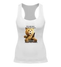 Женская борцовка Медведь Тэд